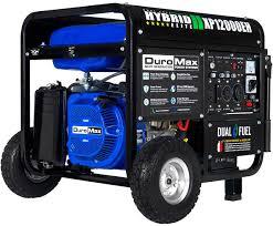 DuroMax dual fuel generator XP12000EH