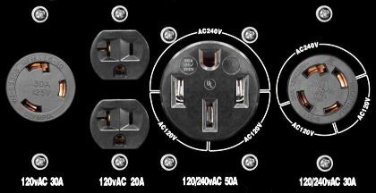 generator outlets wiring generator connectors 240v generator plug wiring diagram at virtualis.co